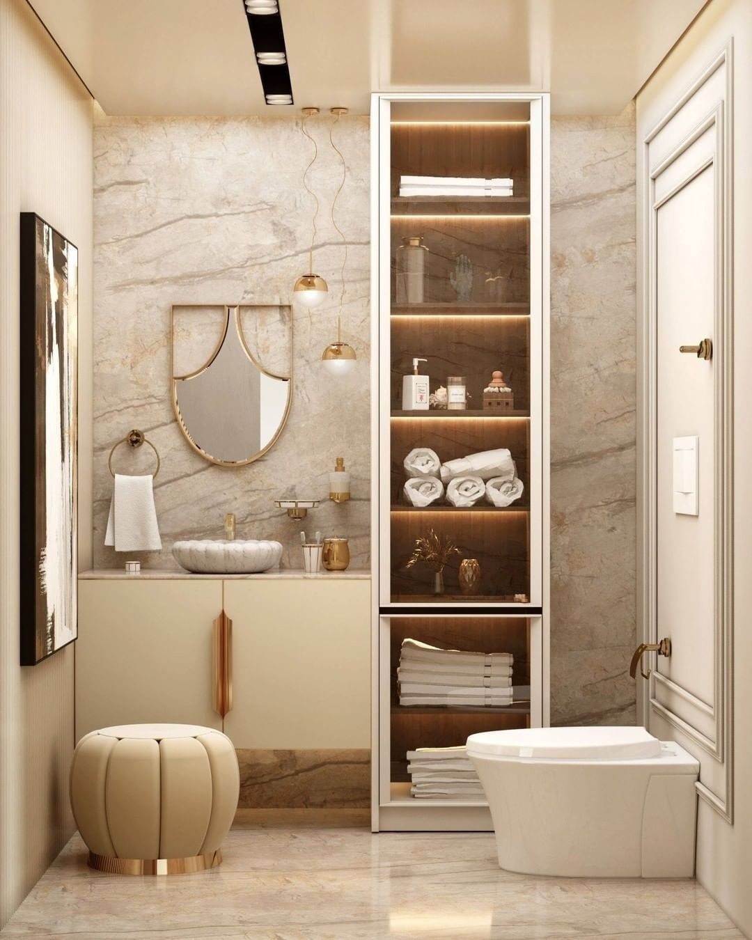 A SPECIAL FURNITURE PIECE FOR YOUR MODERN BATHROOM