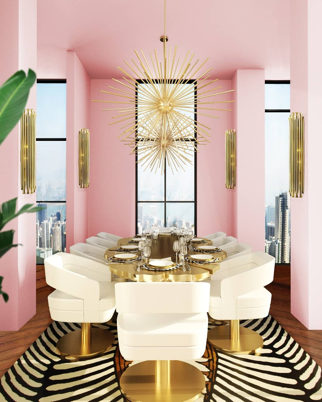 NOTHING LIKE A DINING ROOM WITH A LUXURY TOUCH