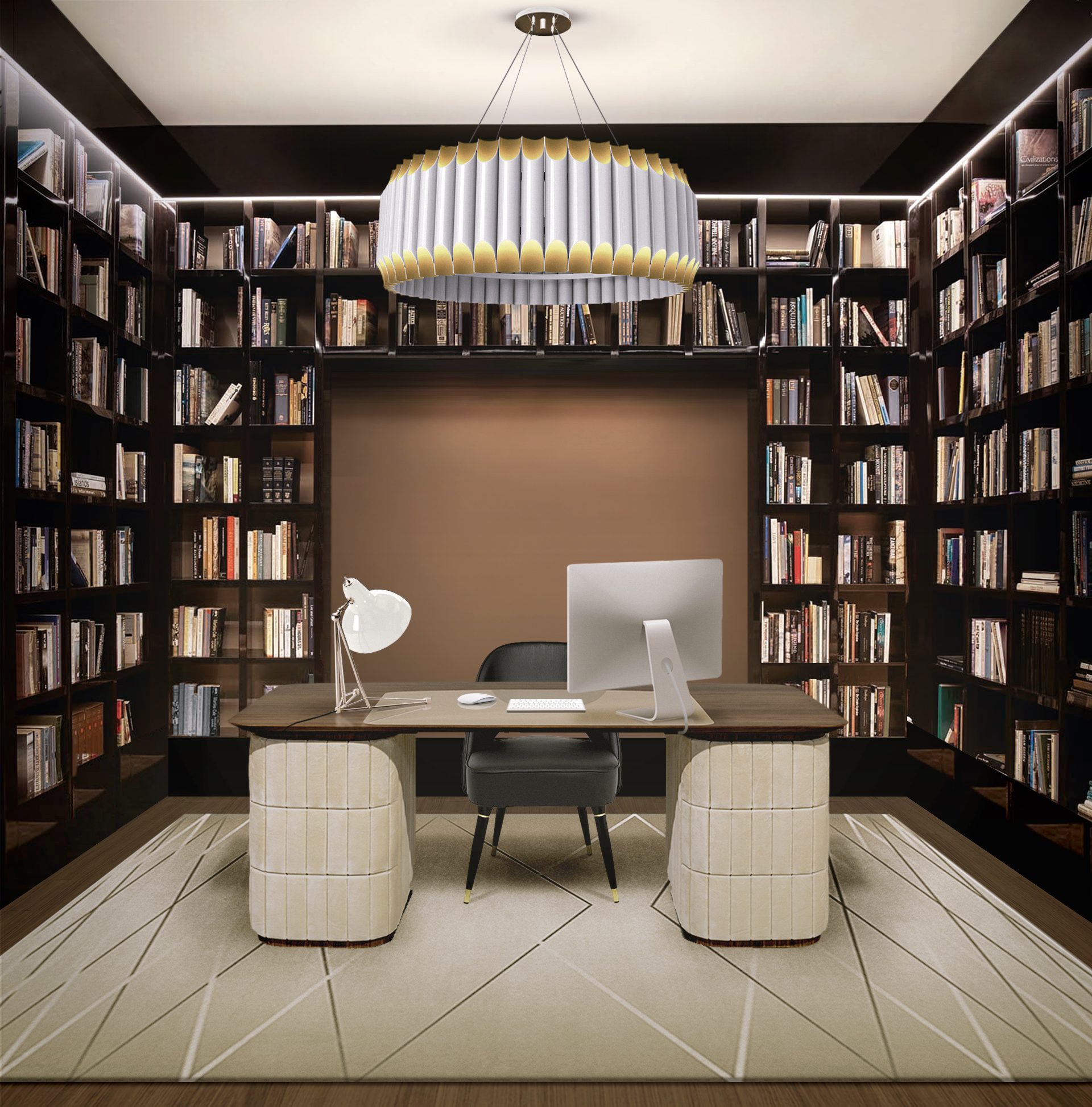 IMPROVE YOUR WORKSPACE WITH THIS HOME OFFICE INSPIRATION