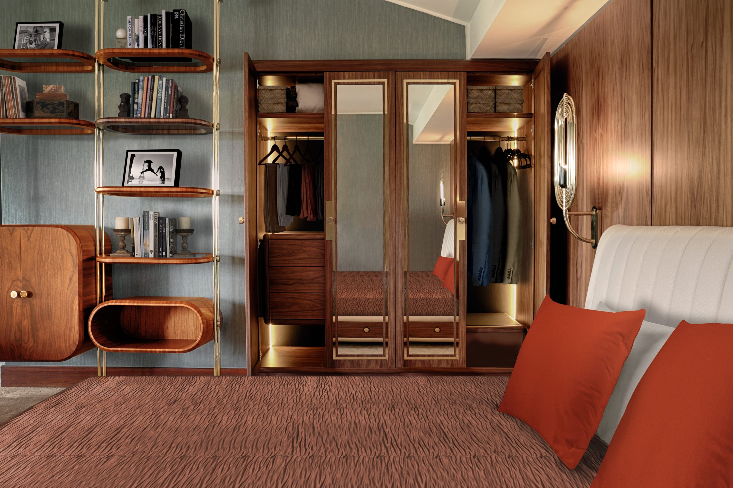 Classy Mid-Century Modern Bedroom Designs