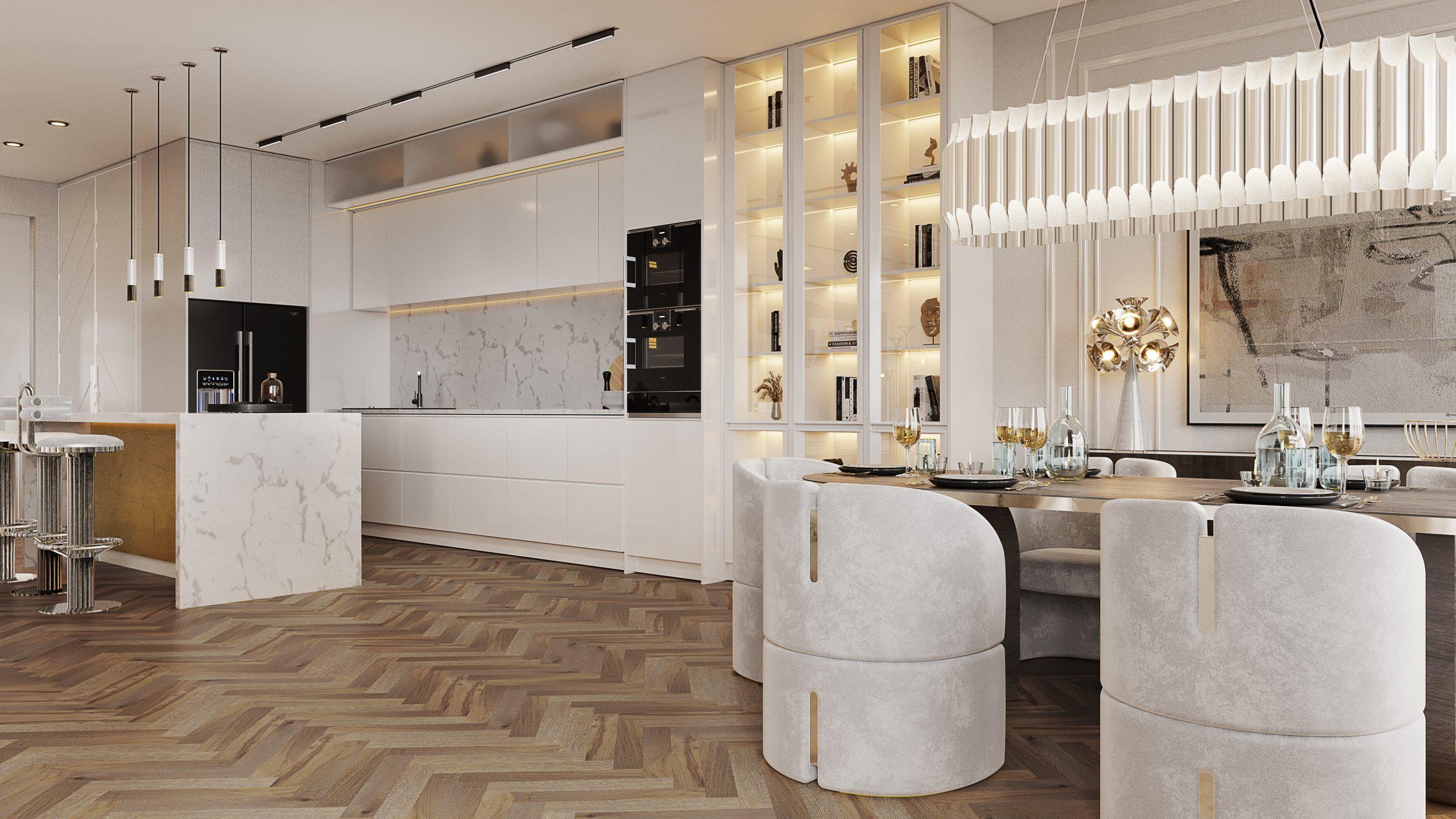 Exclusive Modern Kitchen Designs In A Million Dollar Apartment
